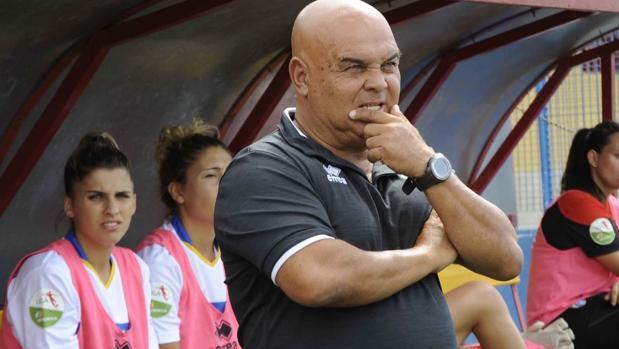 Tony Ayala, técnico de la UDG Tenerife Egatesa