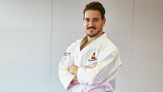 Damián Quintero posa para ABC en el CAR de Madrid