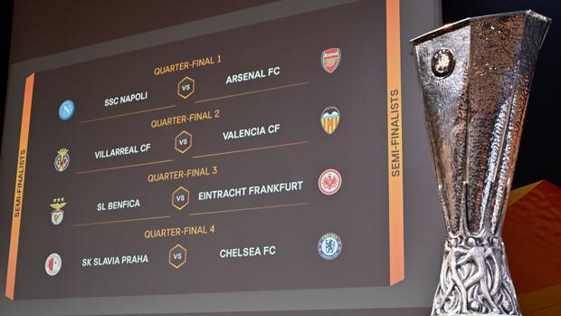 El sorteo empareja a Villarreal y Valencia