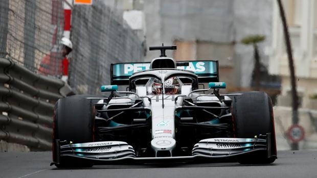 Hamilton, en Mónaco
