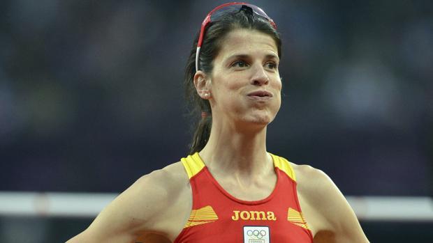 Ruth Beitia, cuarta en Londres 2012, recibirá el bronce olímpico tras el positivo de la ganadora