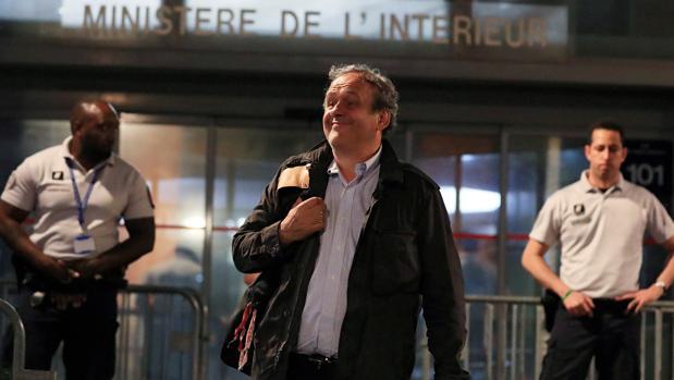 Platini, tras su liberación