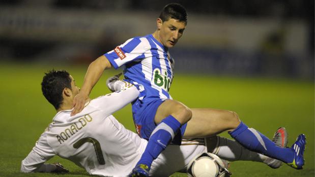 La Ponferradina se enfrentó al Real Madrid de Cristiano en Copa hace unos años