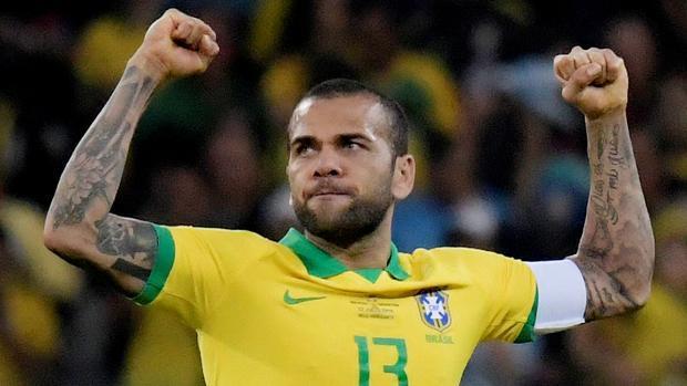 Dani Alves en la pasada Copa América