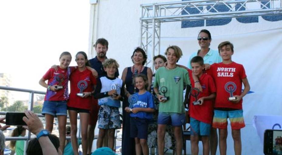 Un centena de regatistas participaron en el trofeo Rodolfo Tomás para vela infantil y vela ligera