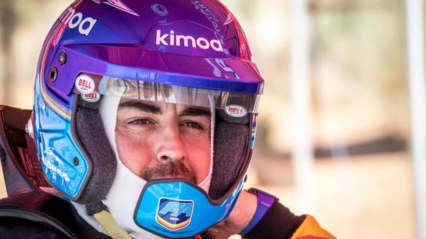 Fernando Alonso apunta al Rally Dakar