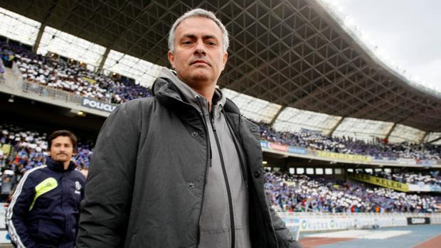 Mourinho, durante su etapa como entrenador del Madrid