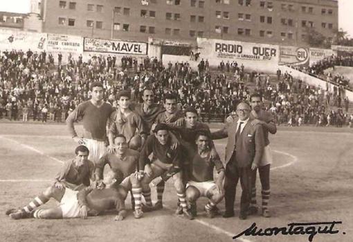 El equipo del CD Abarán que logró el ascenso en Vallecas