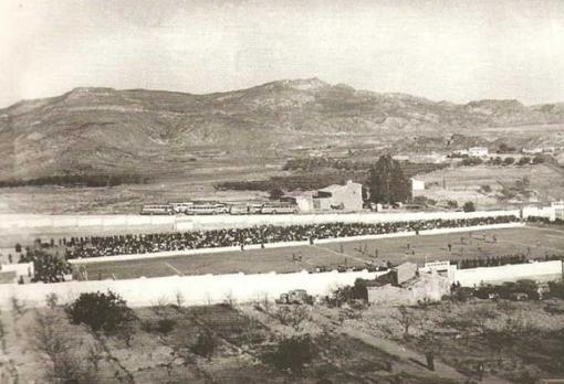 Estadio de Las Colonias en la década de los 60