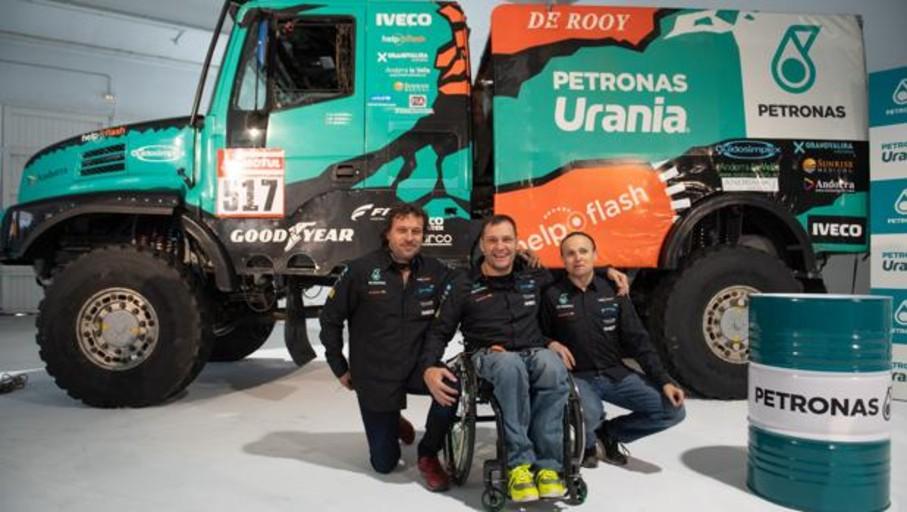 Albert Llovera regresa al Dakar pilotando un camión
