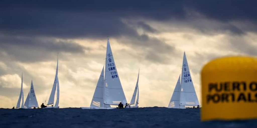 40 tripulaciones en la Puerto Portals Dragon Winter Series