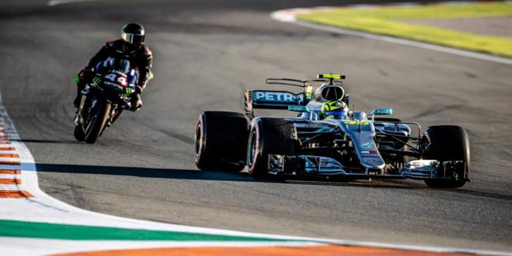Los detalles del intercambio de máquinas entre Rossi y Hamilton