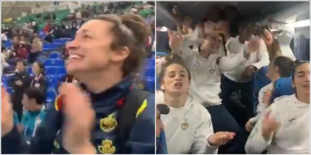 La emoción y el «cante» tras el pase a la final del Mundial