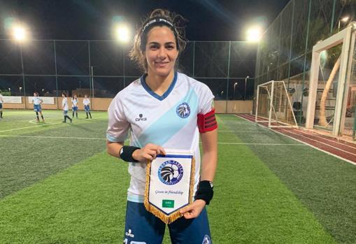 La jugadora Bireen Sadagah