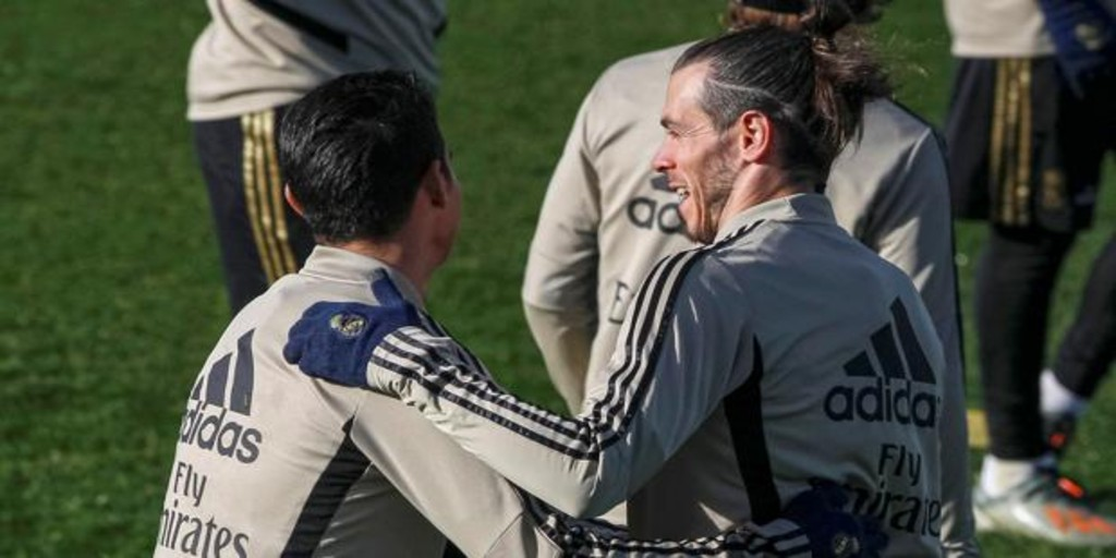 Bale y James, los imposibles de Zidane