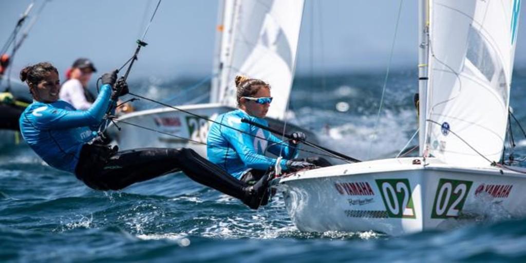 Silvia Mas y Patricia Cantero, tripulación española de 470 en los Juegos Olímpicos