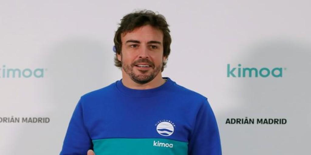 Fernando Alonso: «Estuve con fiebre, malestar y dolor muscular la semana pasada»