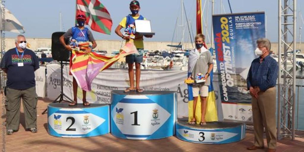 Marc Mesquida y Nicola Jane Sadler, campeones de España