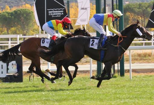 Sir Roque fue muy superior a sus rivales en la segunda carrera del día