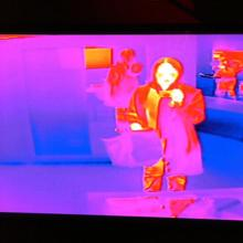There will be thermal cameras