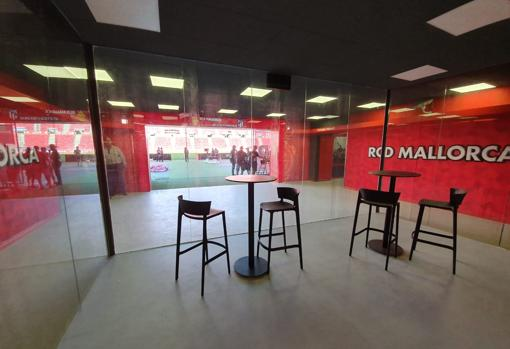 There will be new experiences, such as a room to watch the players go out through the dressing room tunnel