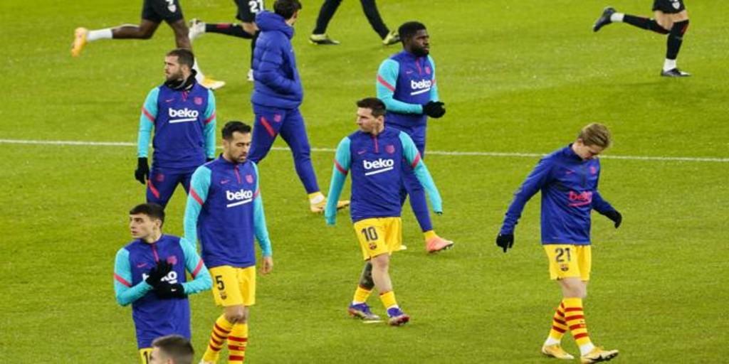 Messi, seria duda para la Supercopa