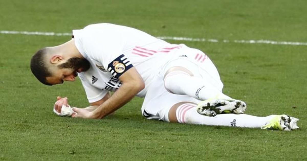 Benzema KO: Rotura del ligamento cruzado anterior