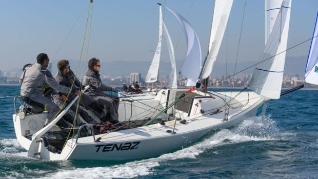«Tenaz», vencedor de la primera serie de la Barcelona Winter Series de J70