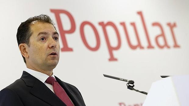 El consejero delegado del Banco Popular, Francisco Gómez