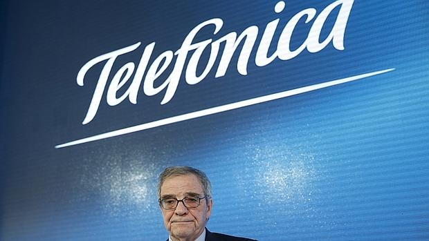César Alierta ha anunciado este martes que abandona la presidencia de Telefónica