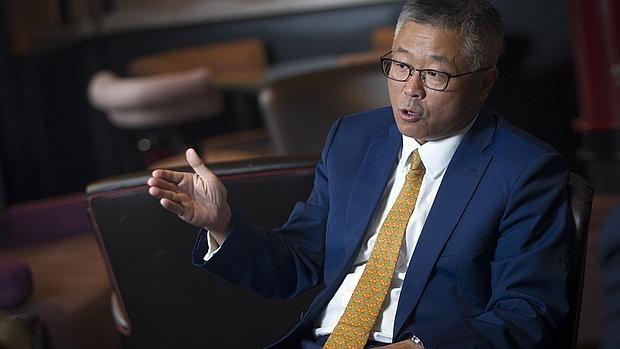 SiTao Xu durente un momento de la entrevista con el suplemento de Empresa de ABC