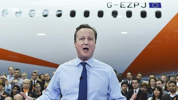David Cameron ha realizado una intensa campaña en contra del Brexit