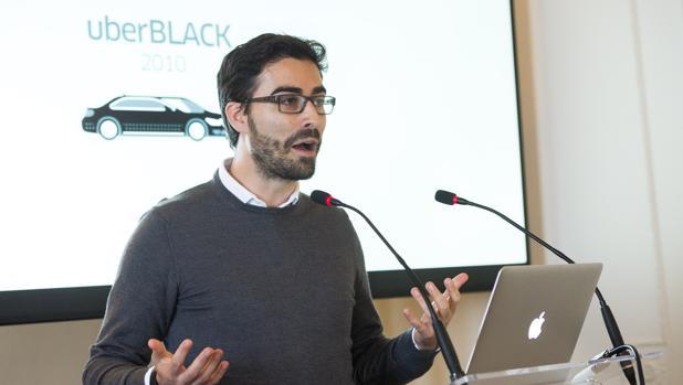 Carles Lloret, director general de Uber