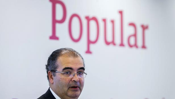 El presidente del Banco Popular, Ángel Ron
