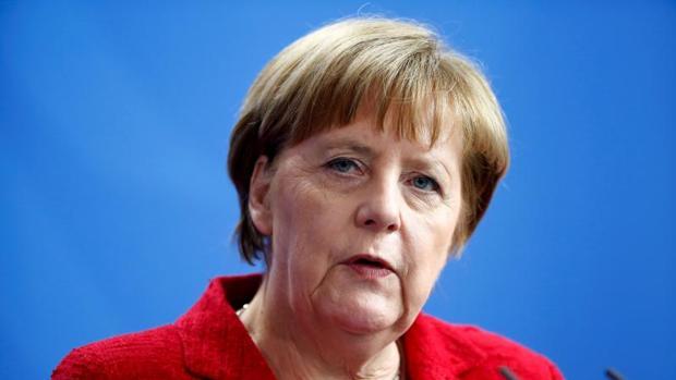 La canciller alemana , Angela Merkel