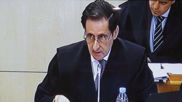 El abogado del FROB en el caso, Fernando Aizpun