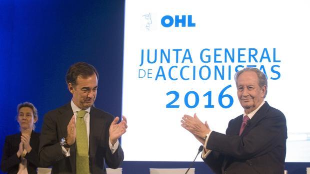 Junta de accionistas de OHL en 2016