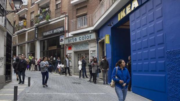 Ikea abrirá el 25 de mayo su tienda temporal en el centro de
