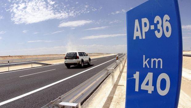 La AP-36 Ocaña-La Roda, una de las autopistas en quiebra