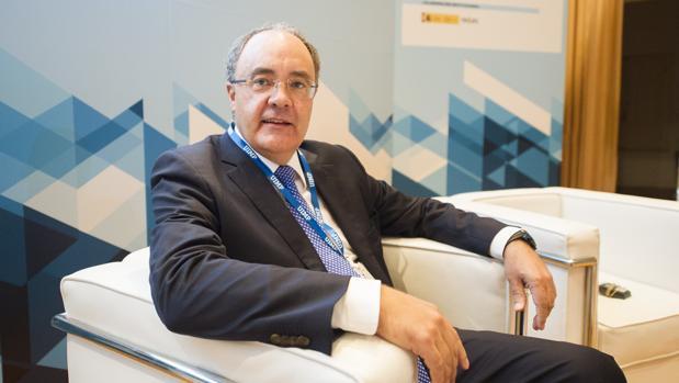 El CEO de Cellnex, Tobías Martínez