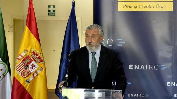 El secretario de Estado de Infraestructuras, Transporte y Vivienda, Julio Gómez-Pomar