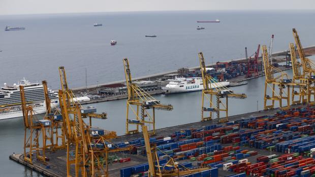 Una imagen de archivo del Puerto de Barcelona