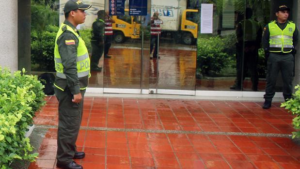 Sede de Electricaribe en Barranquilla cuando fue expropiada hace ahora tres años