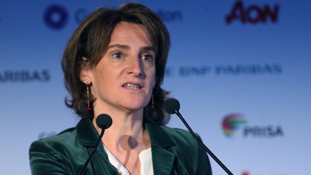Teresa Ribera, ministra de Transición Ecológica, en el Spain Investors Day