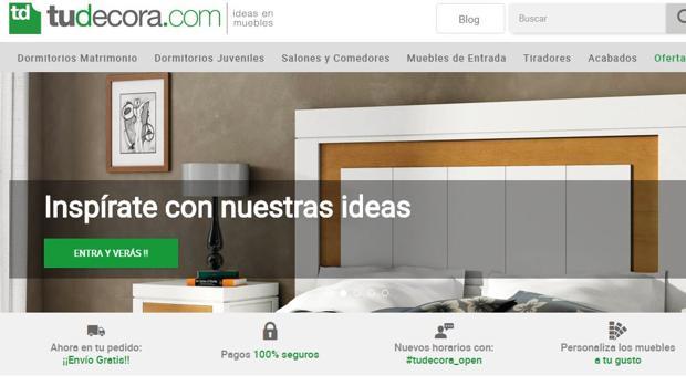 Página web de tudecora.com