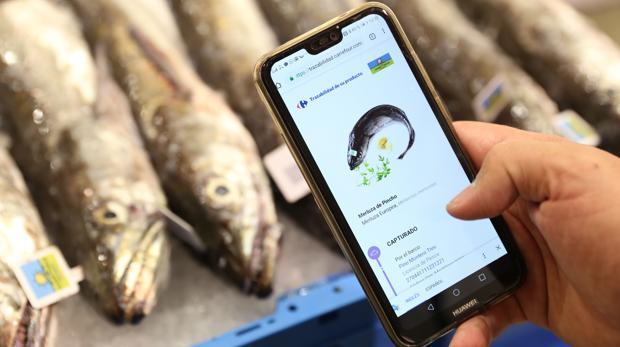 Seguimiento en el móvil de las etapas de pesca, transformación y producción de la merluza de pincho