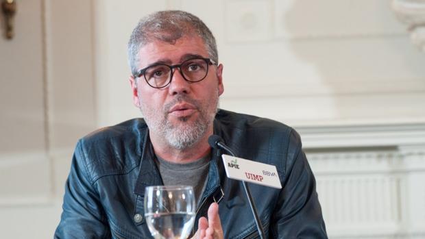 Unai Sordo, secretario general de Comisiones Obreras, durante su intervención en el Curso de Economía organizado por APIE