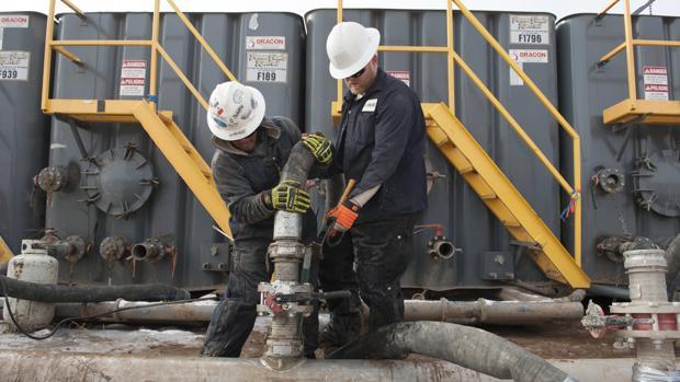 Industria del «fracking» en Dakota del Norte (EE.UU.)