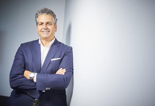 Borja Milans del Bosch, CEO de Carioca Iberia, posa para ABC