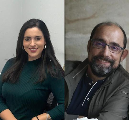 Beatriz Carballo y Emilio Bermo